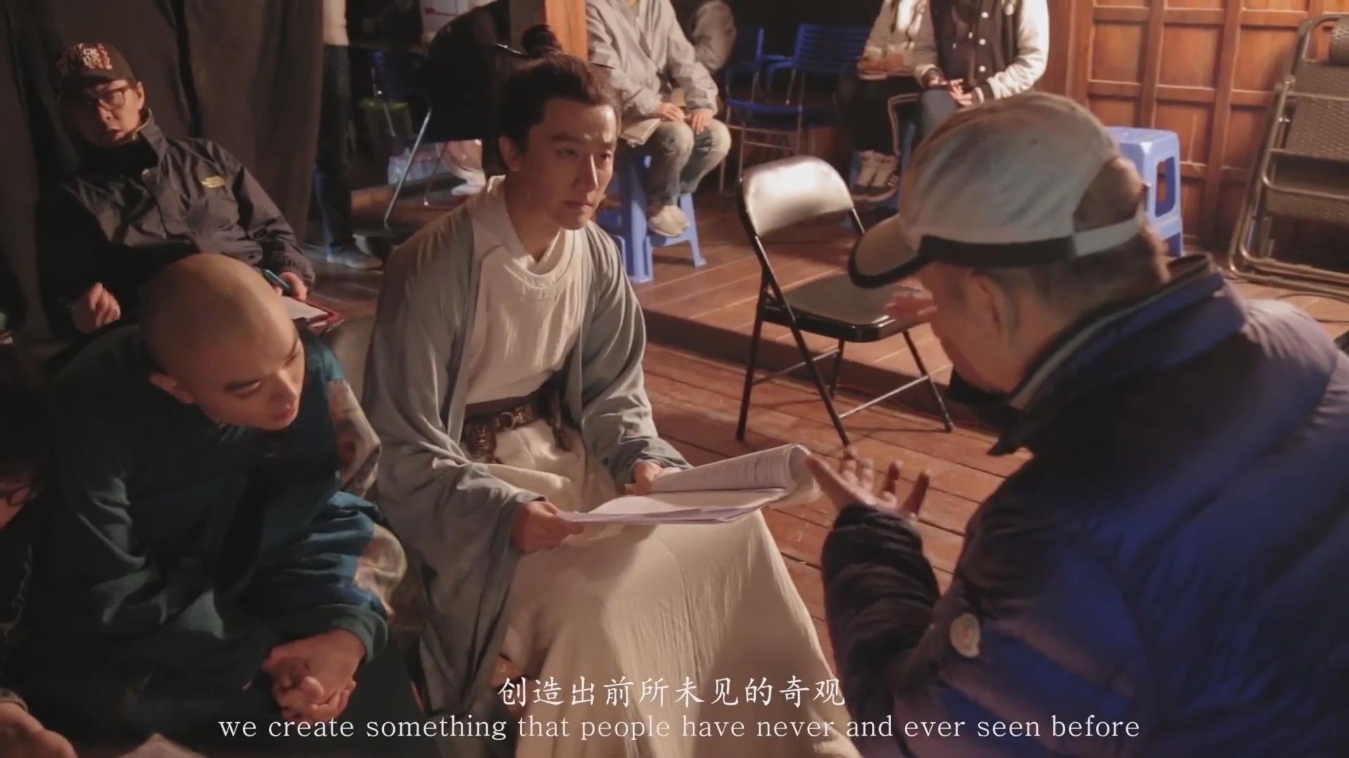 陈凯歌导演,魔幻史诗钜片《妖猫传》精彩幕后拍摄特辑