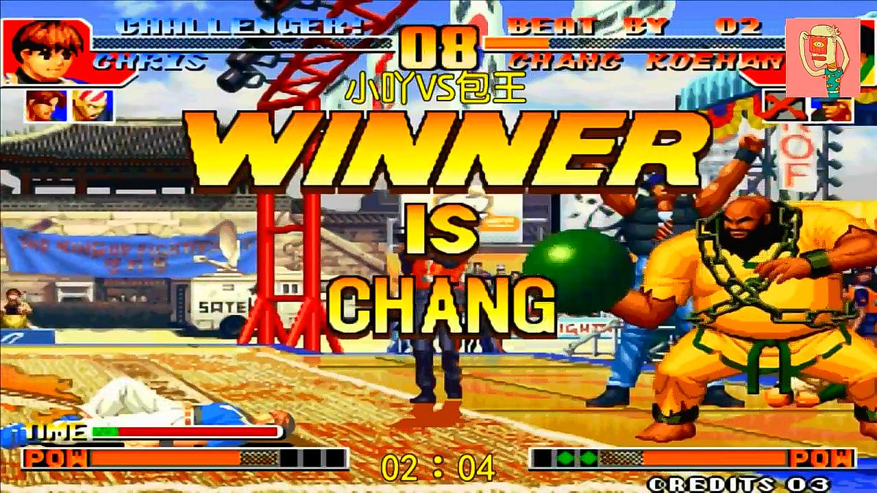拳皇97:包王大猪常用套路,猥琐的这么有细节同时又这么暴力