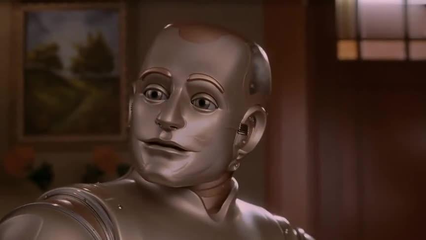 这就是四指连弹吗女孩居然亲了机器人一口,路边情侣真不害臊
