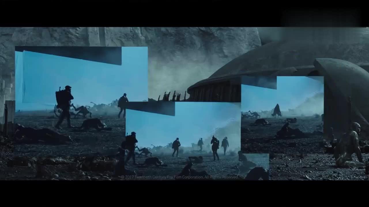 #电影#《异形:契约》超炫视觉特效制作短片