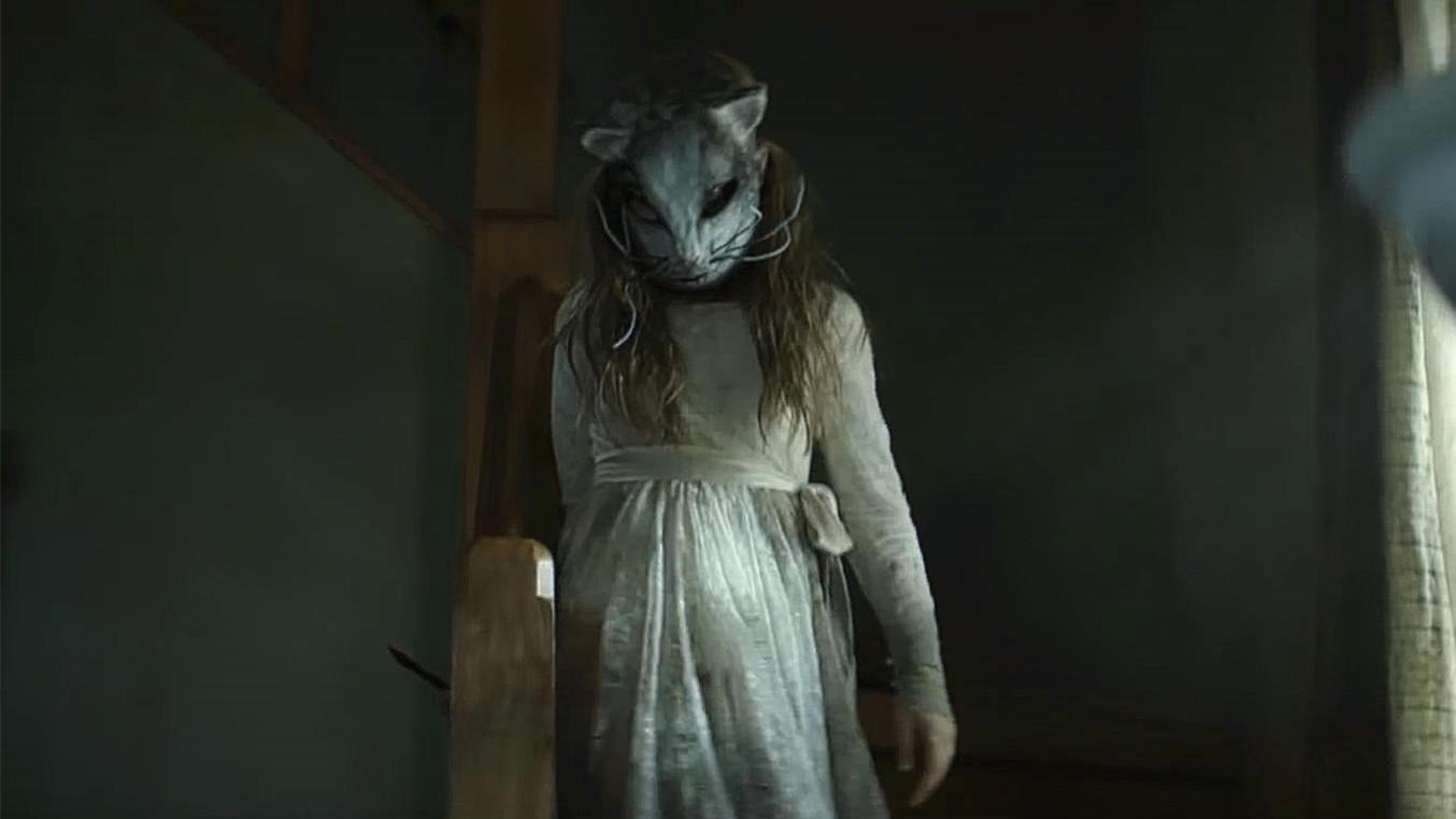 #惊悚看电影#《宠物坟场》杰德老爷子匆匆赶回家,却被起死回生的小女孩暗算了