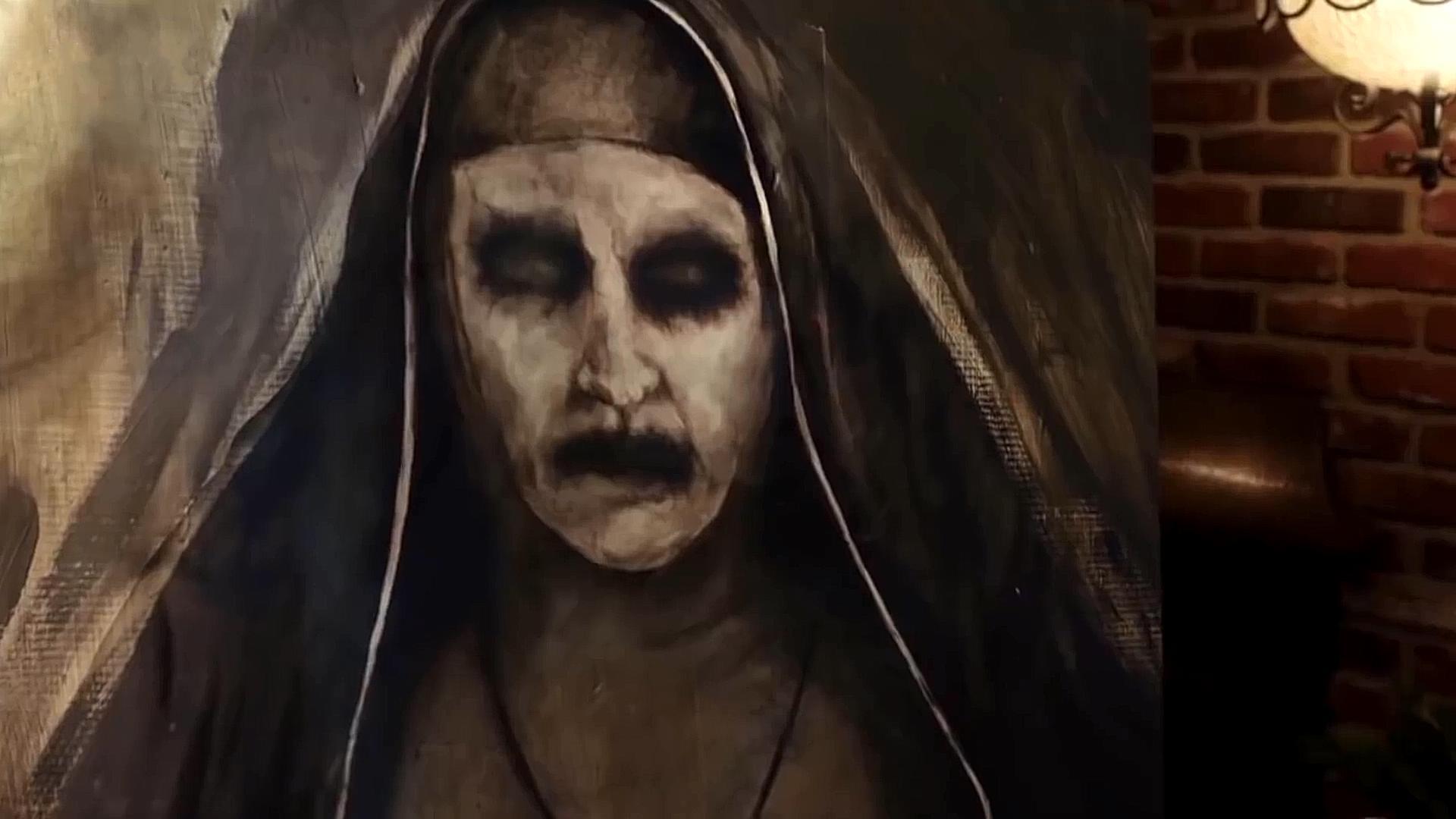 #惊悚看电影#温子仁招魂宇宙系列电影最恐怖镜头合集,你的小心脏准备好了吗