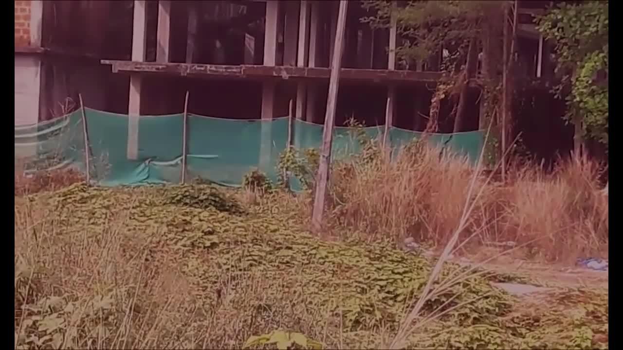 #幽灵#灵异事件,从建筑工地上捕捉的幽灵视频!无法现象!