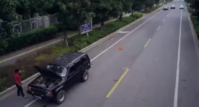 #这个视频666#郭晓峰《弥天之谎》:杜闻误当飙车者当歹徒,全力追击却虚惊一场