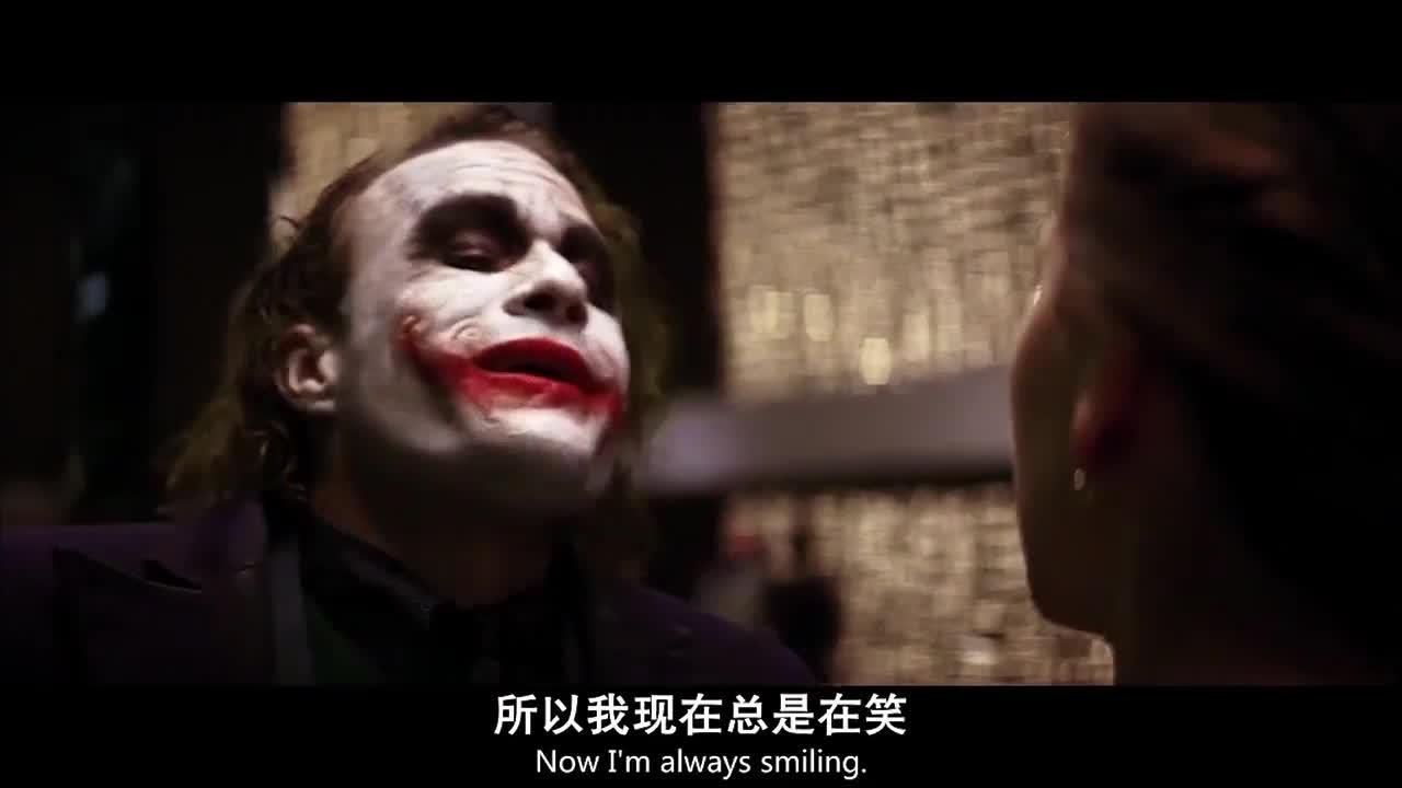 #蝙蝠侠:黑暗骑士#《蝙蝠侠:黑暗骑士》小丑与蝙蝠侠谈判