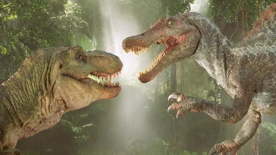 #经典看电影#霸王龙居然几招就被这种恐龙秒杀了,几分钟看完《侏罗纪公园3》