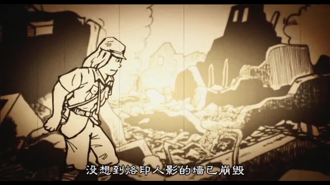 男子给母亲揉肩,突然来了核爆炸,瞬间被烧焦