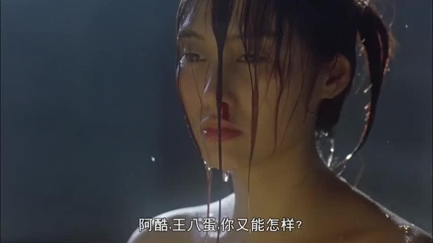 古天乐 朱茵成名作 演技远超《犯罪现场》看完点映的我有点蒙圈
