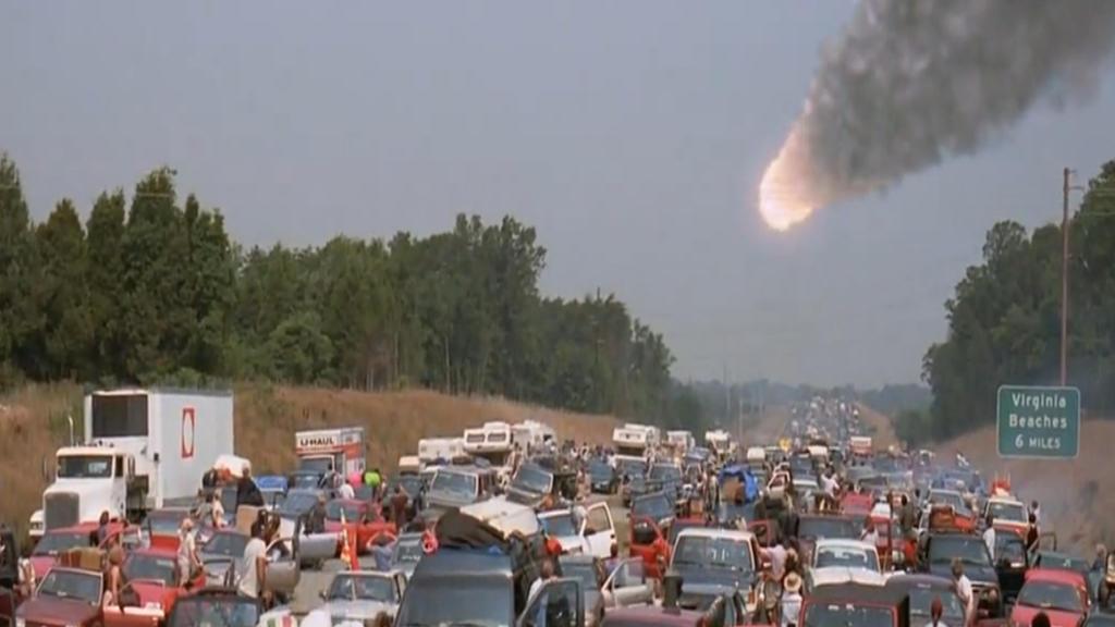 #这个视频666#比《2012》经典,5000亿吨的彗星撞击地球,几千万人毁灭