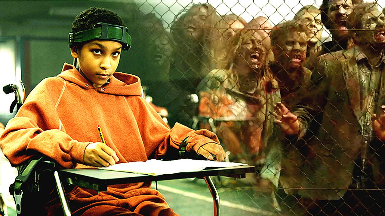 #惊悚看电影#丧尸也会生孩子? 阿达逗比解说奇葩丧尸片《天赐之女》