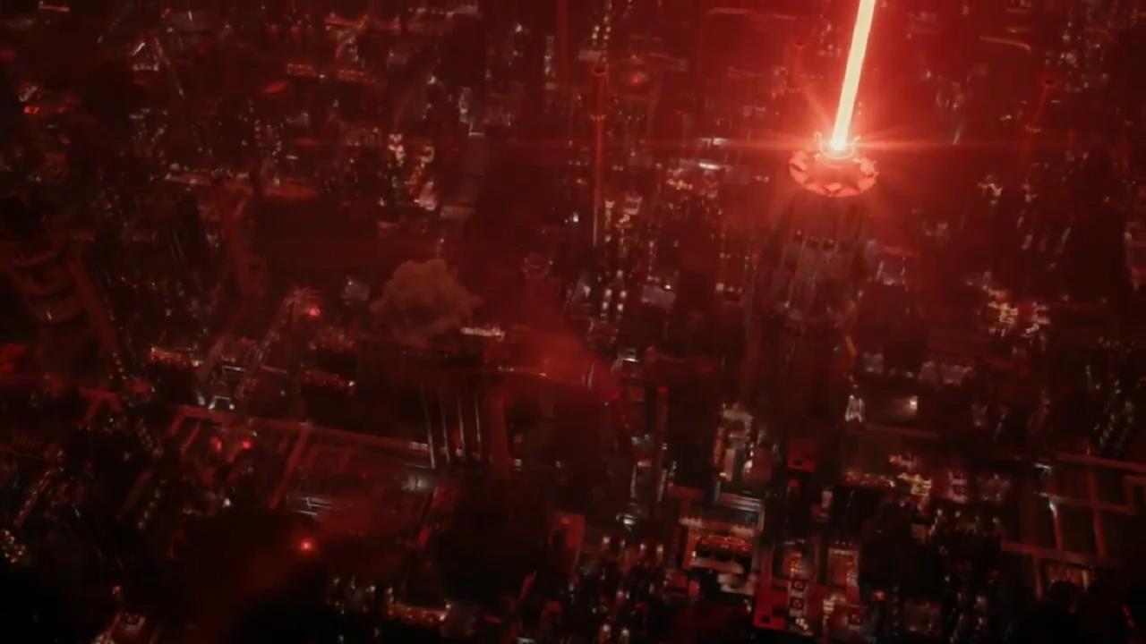 #电影最前线#最新动作猛片,拿着神器开着炸弹汽车冲向敌人,爆炸时候瞬间移动