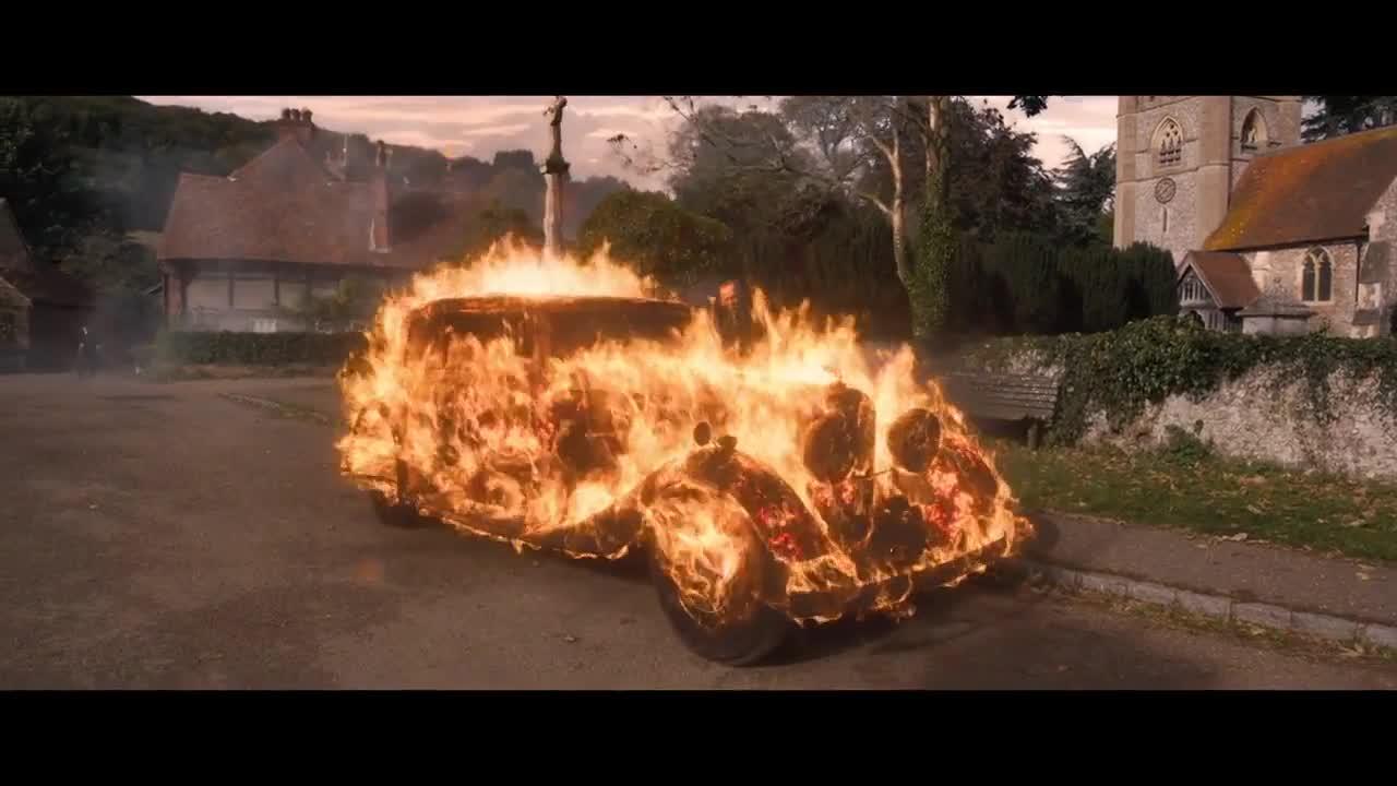 恶魔开着烈焰车问路,大爷都不知道要怎么吐槽了