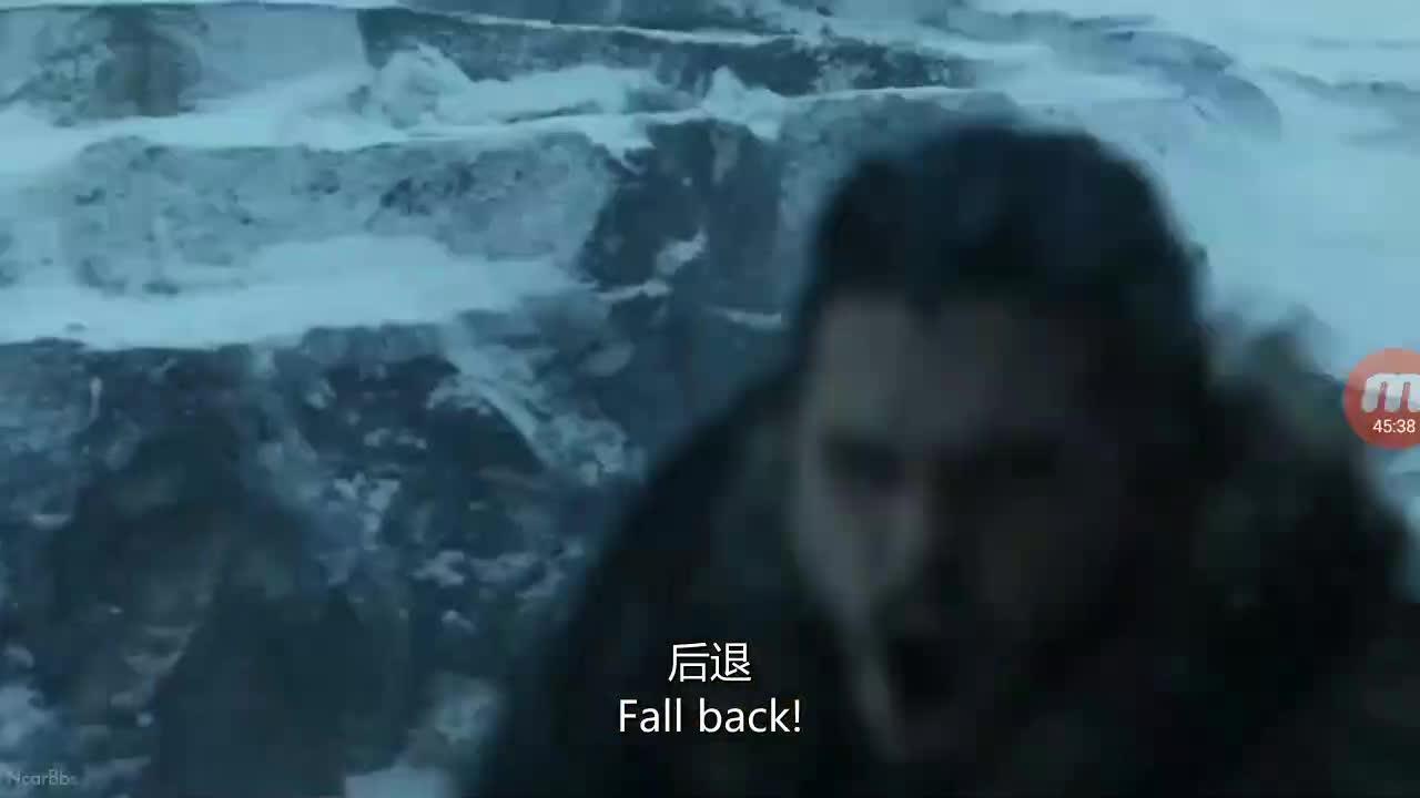 权游七 第六集 紧张,托蒙德将战死