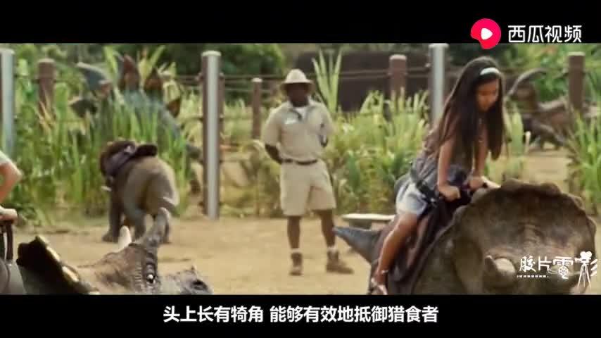 #电影片段#《侏罗纪世界2》中的恐龙大起底,暴虐迅猛龙成为最强的存在
