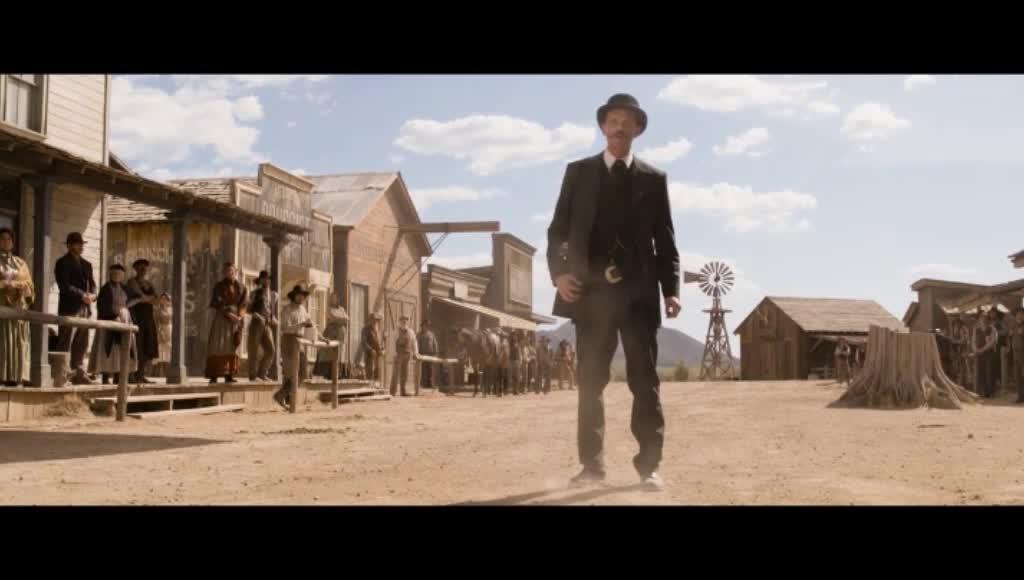 西部牛仔约好决斗,没想到到了地点就狂拉肚子!