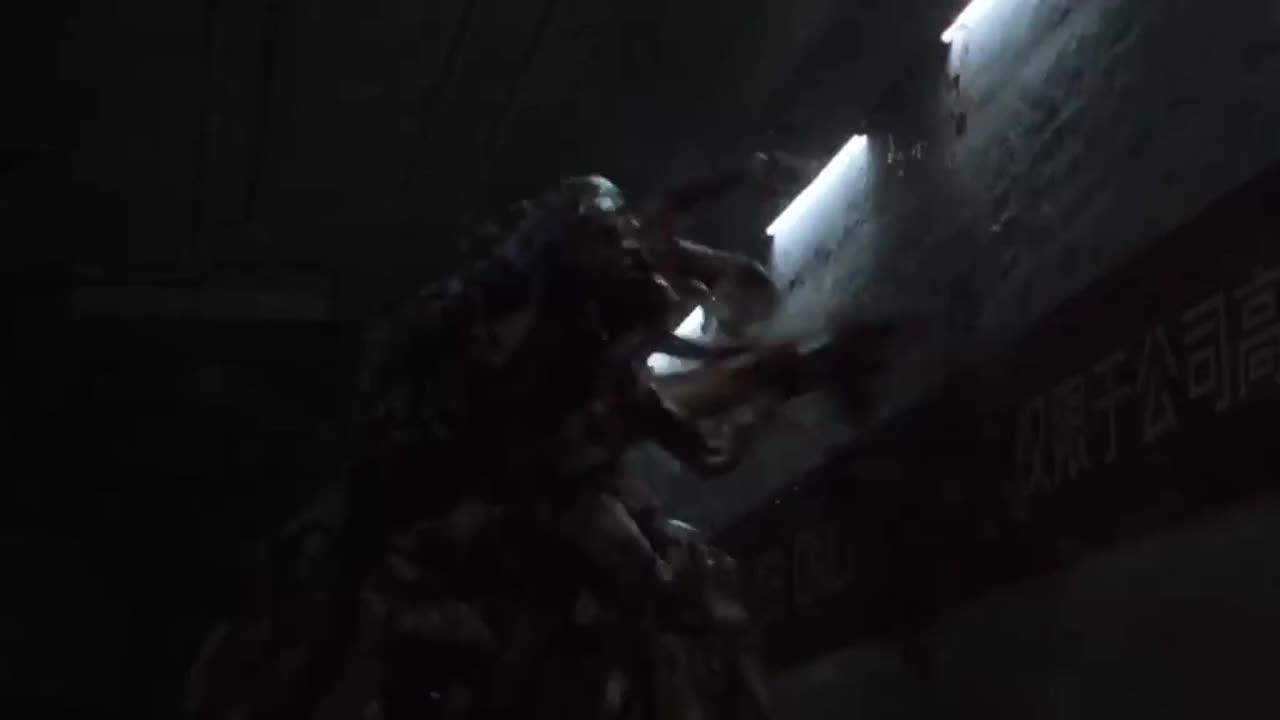 #惊悚看电影#由人的各个部位组成的怪物,太恶心了