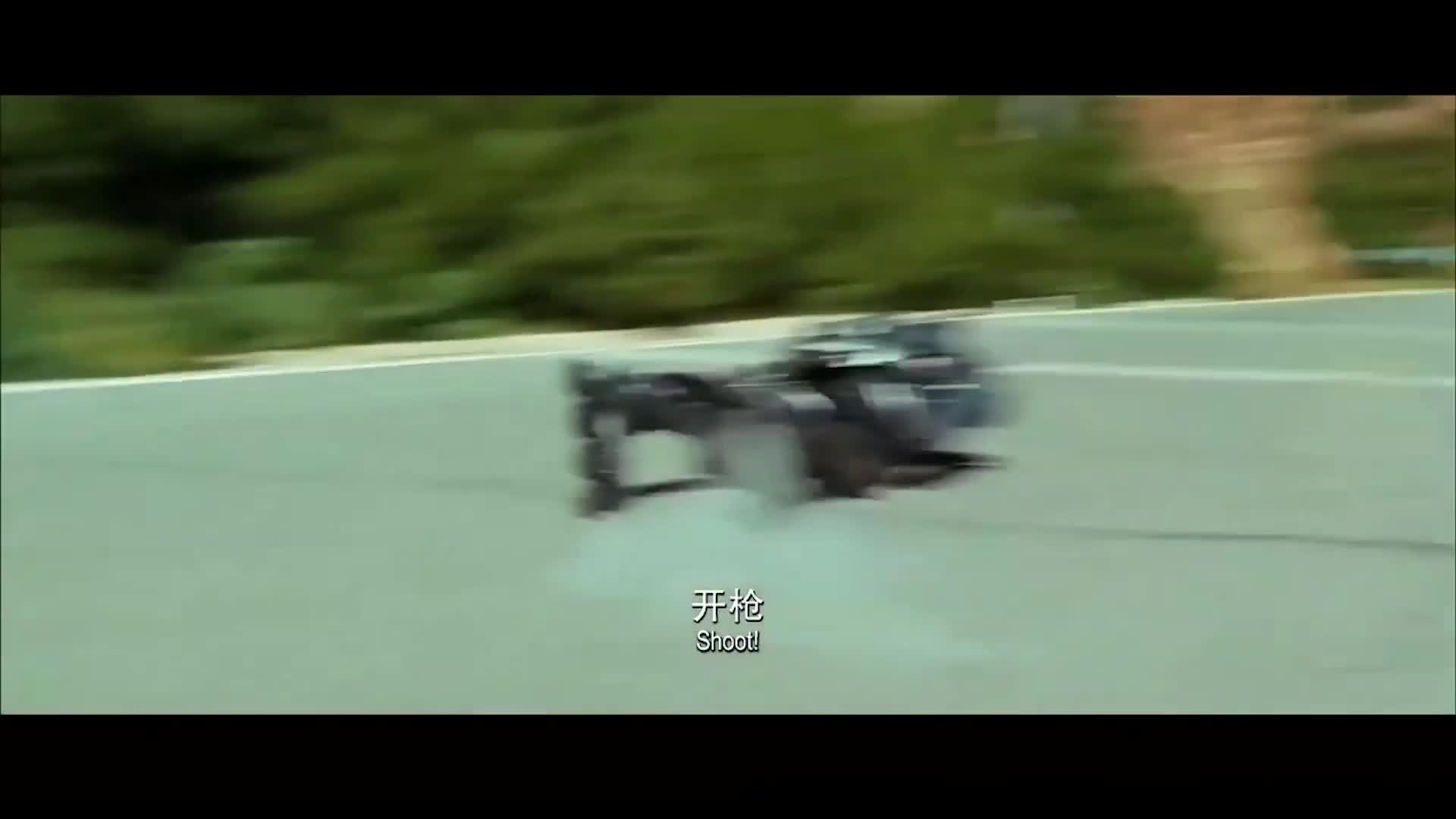 #这个视频666#《十二生肖》:高速滑行
