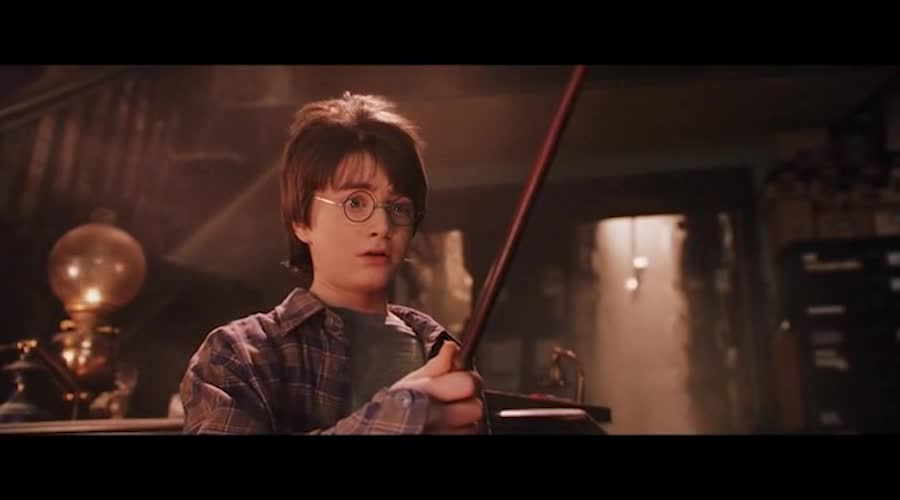魔法杖竟然会挑选主人,太神奇了,不愧是魔法的学校