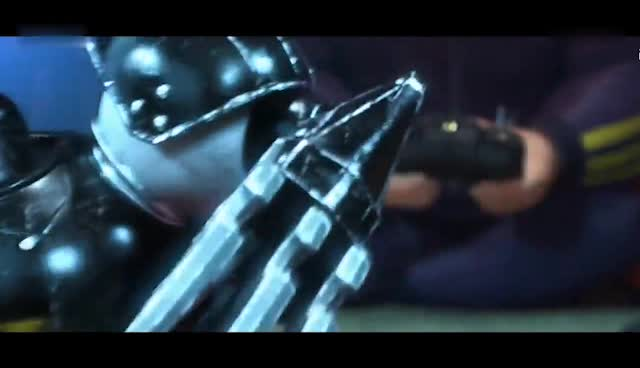 #《超能陆战队》#全场最不起眼捡来的小孩, 却打败了最厉害的机器人!