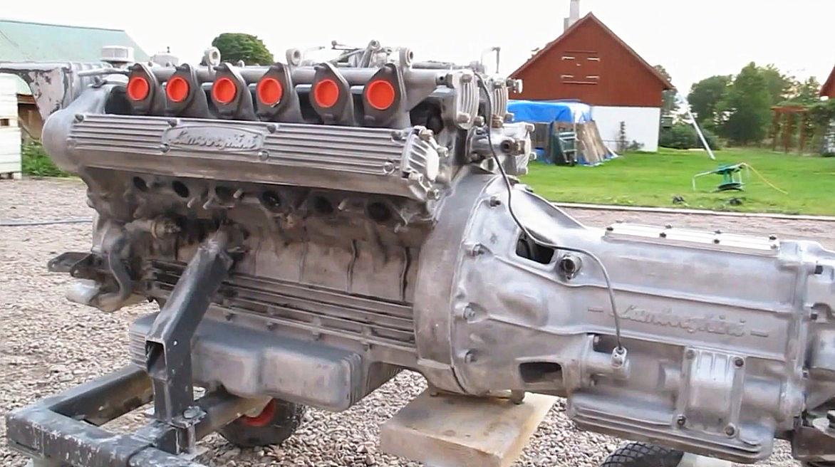 见过兰博基尼的完整发动机?没有没关系,这次让你一饱眼福