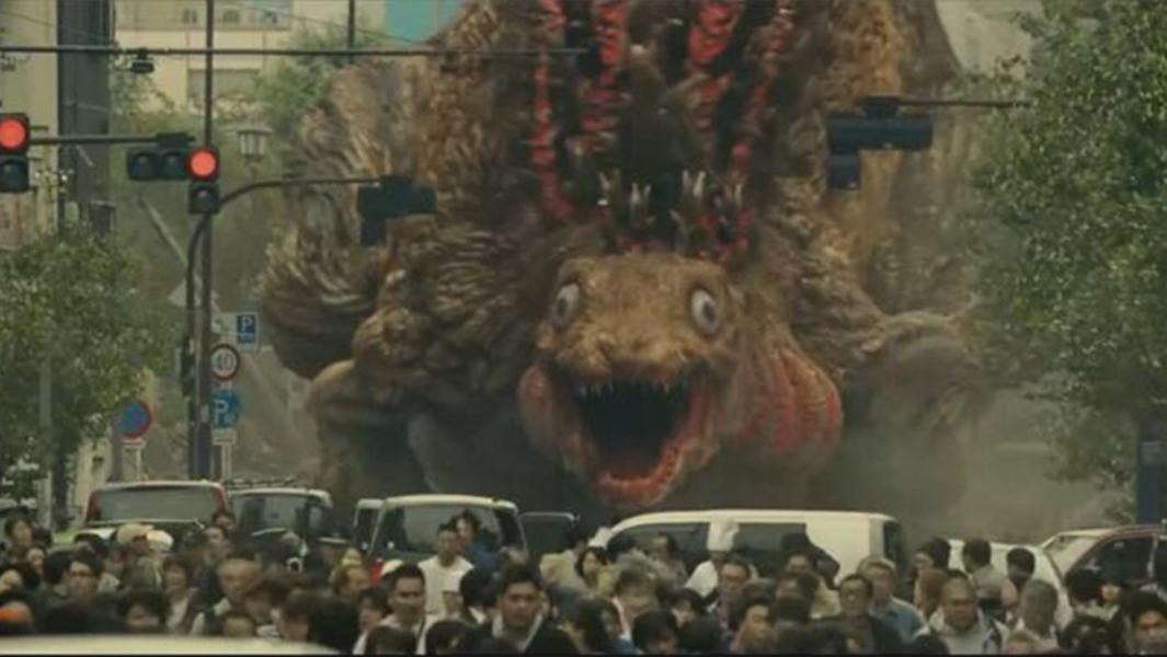 #经典看电影#海底巨型生物上岸想和日本做朋友,不料却遭到歧视,结果闯了大祸
