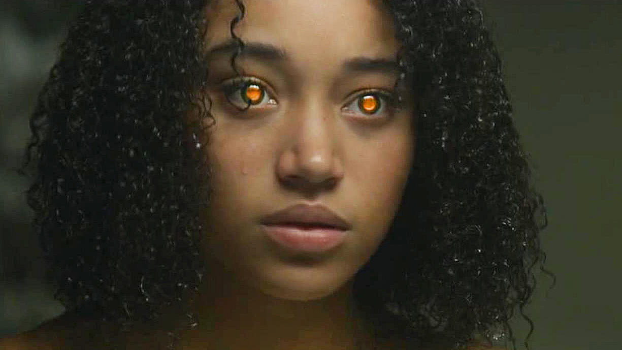 #经典看电影#未来只有5种超能力,按照眼睛颜色区分,能力最强的是橙色!