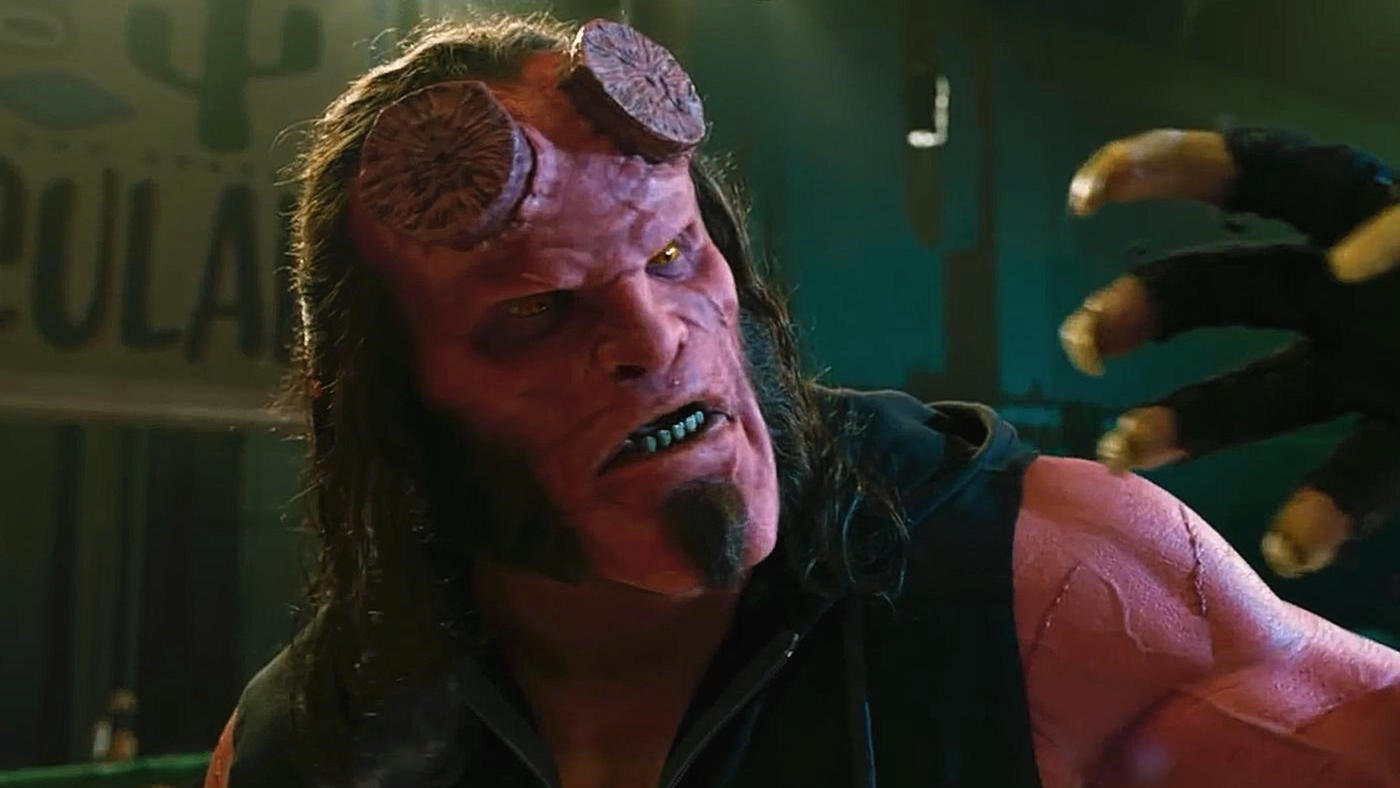 #电影最前线#《地狱男爵:血皇后崛起》特效化妆以及幕后拍摄花絮