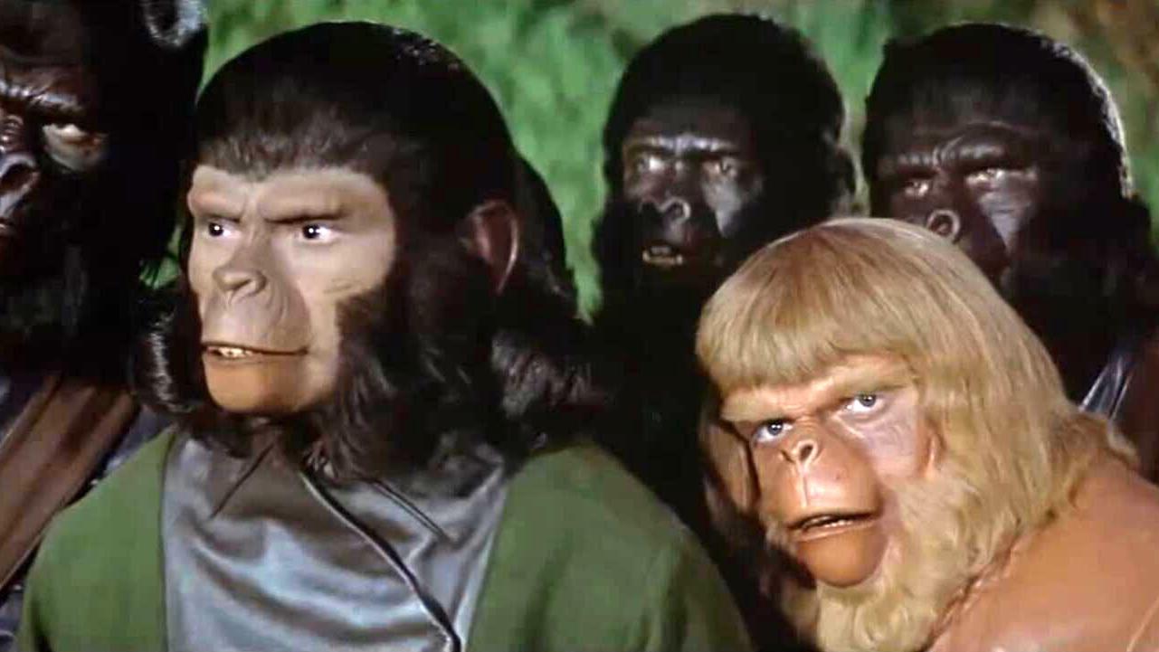 1973年科幻电影,人类文明被毁灭后,人猿和人类展开大决战