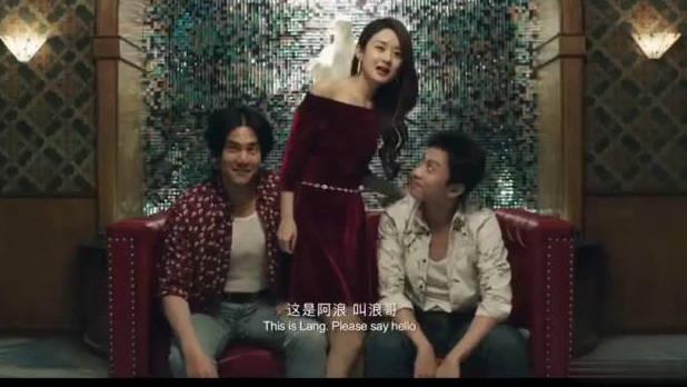 #电影迷的修养#赵丽颖在《乘风破浪》中一袭红裙出场,真是美到窒息了