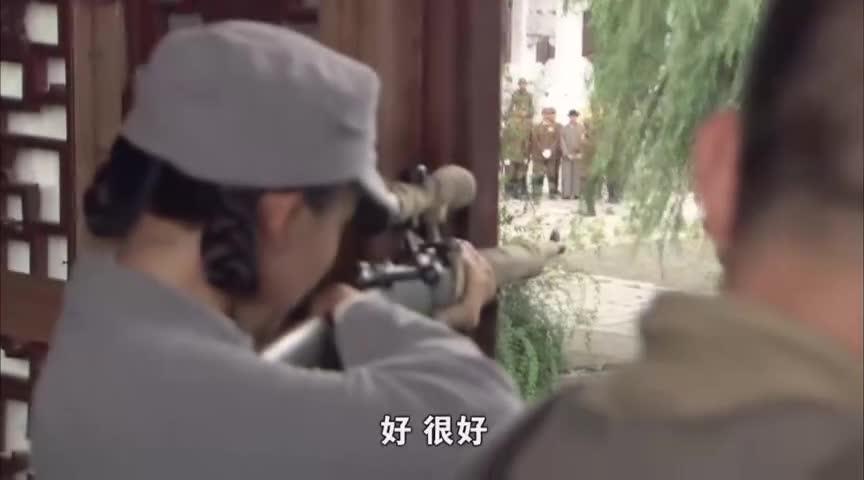 #电视剧#日军领导在中国祠堂前拍照,完全不怕嚣张的很,结果被神枪手爆头