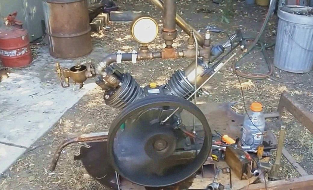 老外叫它布雷顿发动机,有人说这是空压机机头,有真懂的吗?