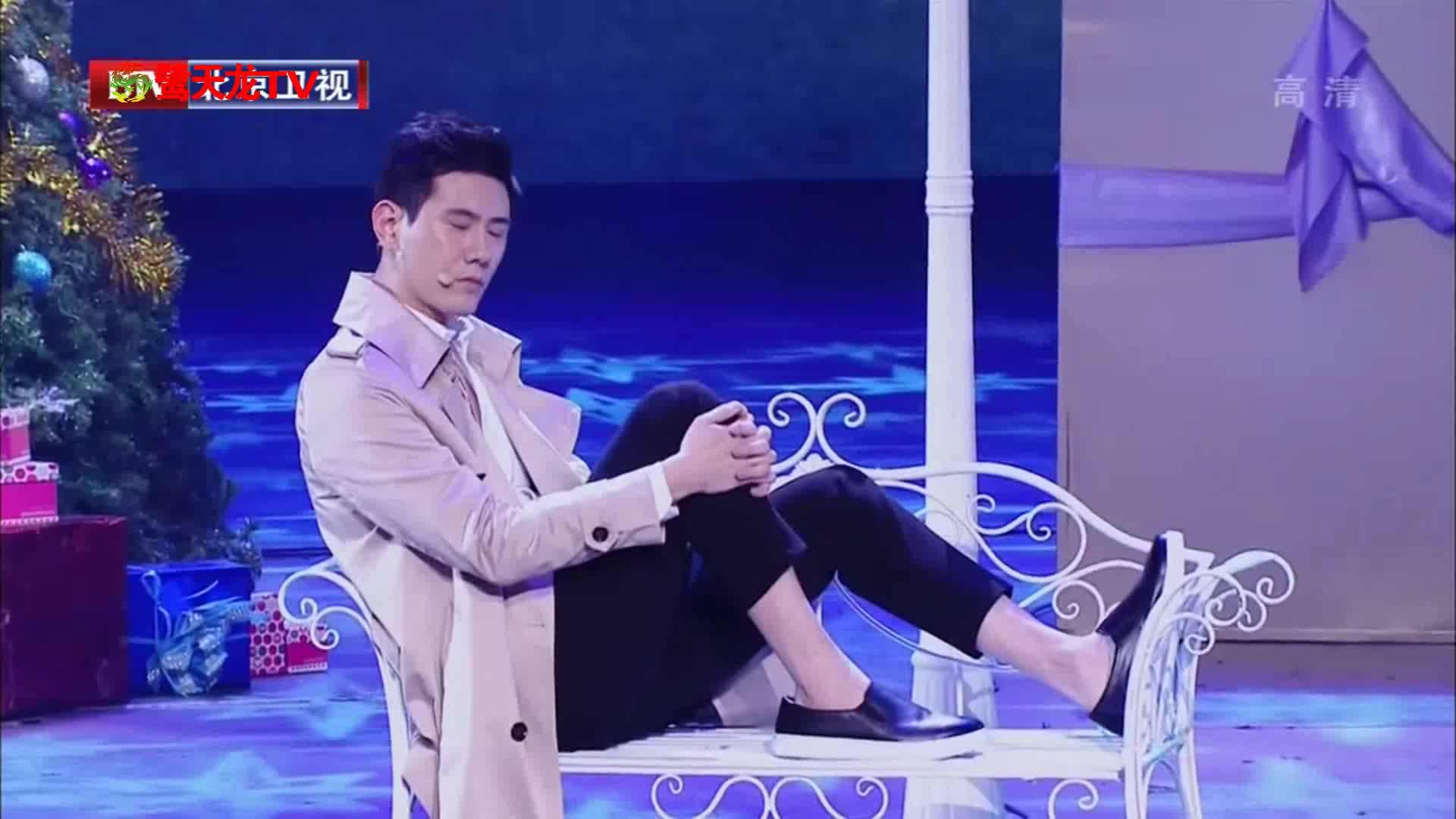 蔡宜达改编陈奕迅悲伤情歌《圣诞结》帅气指数飙升