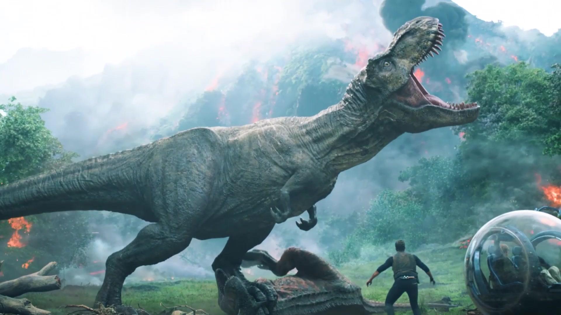 #电影迷的修养#《侏罗纪世界2》4K高清60帧视频剪辑欣赏