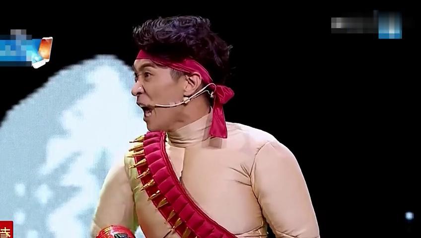 #搞笑趣事#陈赫王宁上演真人版魂斗罗,太搞笑了,忍不住笑出声了