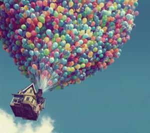#经典看电影#我的一生中,最华丽的冒险,便是陪你终老----飞屋环游记