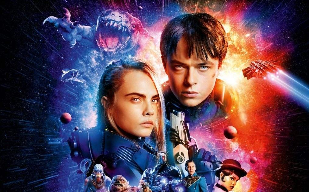 几分钟速看科幻片《星际特工:千星之城》画面美爆了!