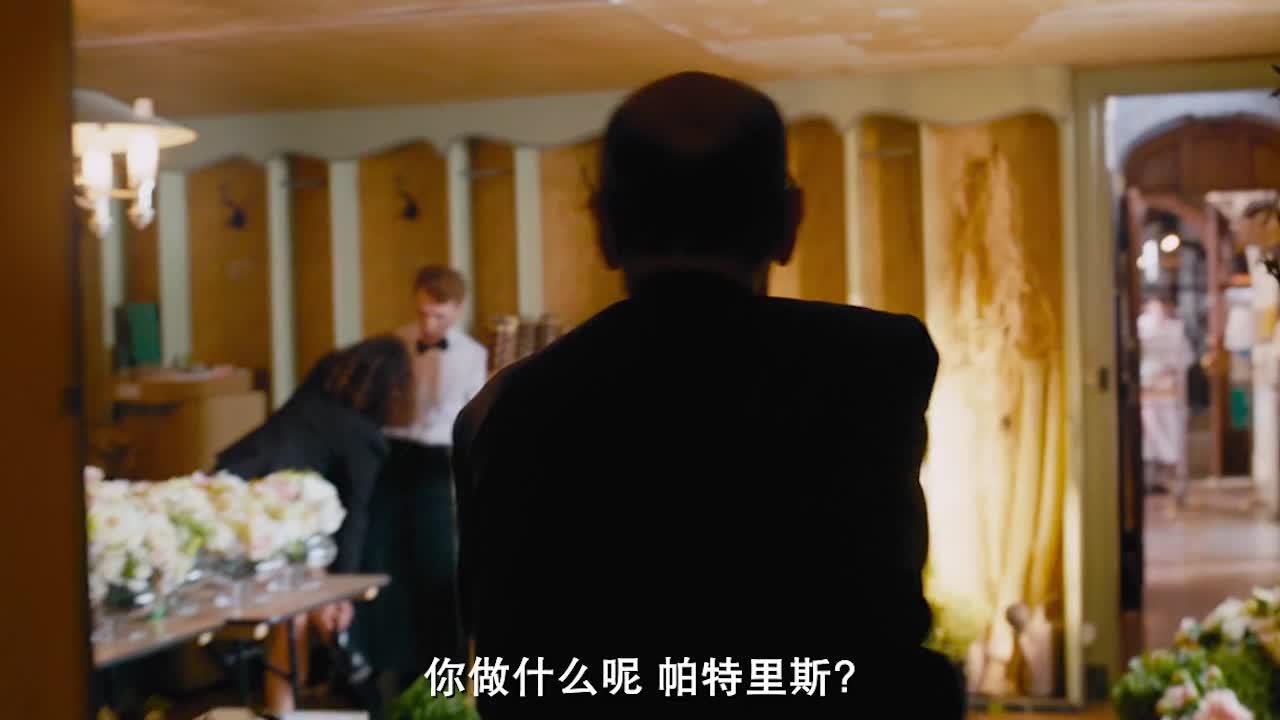 法式嘴炮喜剧,失败的温馨的浪漫的搞笑的婚礼布置现场