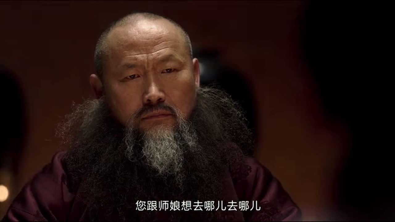 #电影片段#廖凡给师父送礼,却是一个噩耗,让他给日本人做事