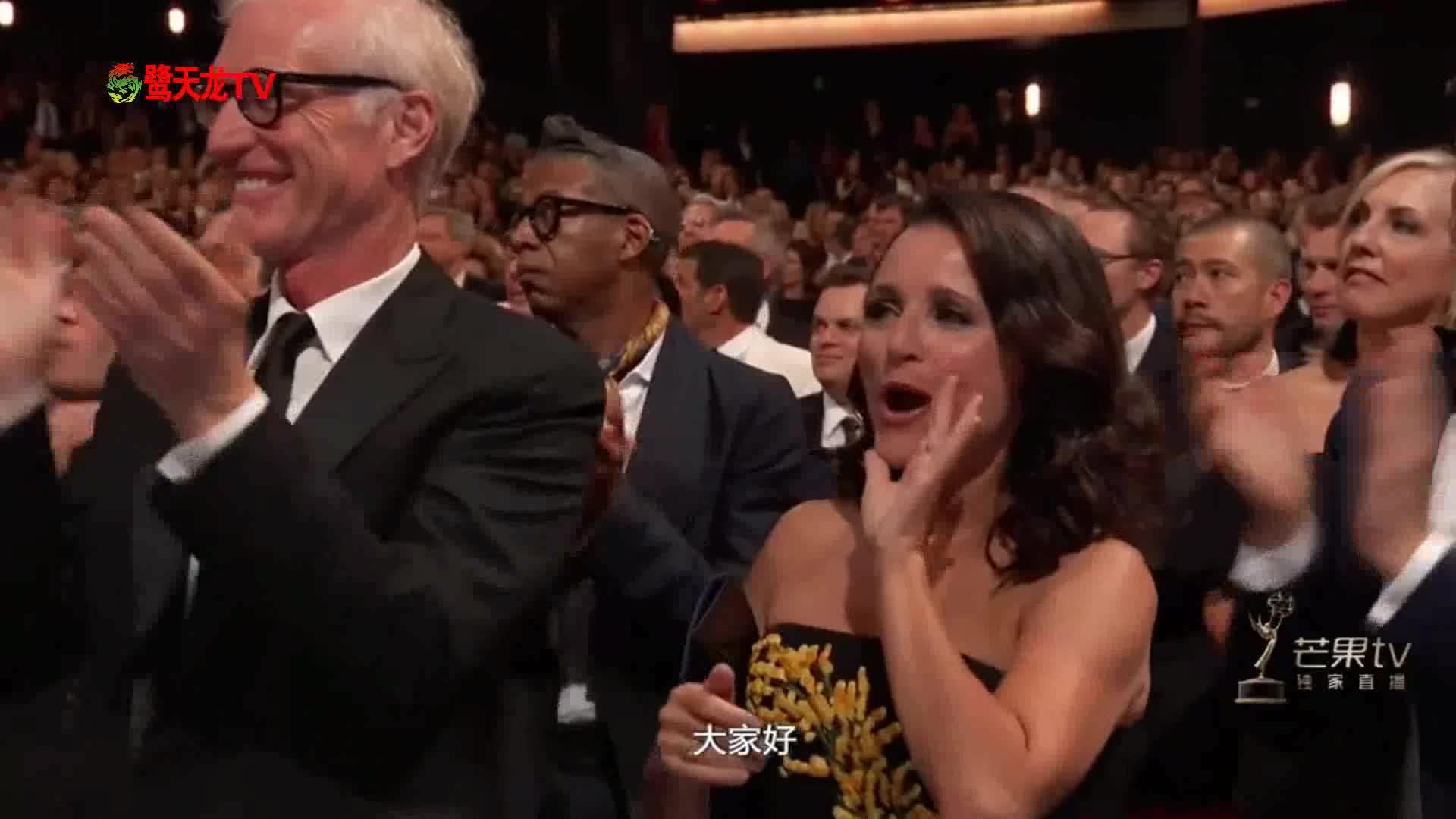 艾美奖颁奖典礼:电视电影最佳男配角获奖者《大小谎言》
