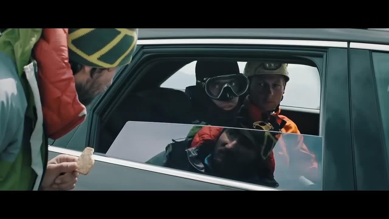 #经典看电影#奥迪挑战荒野求生《搭便车的人》