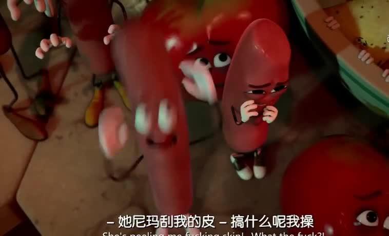 #经典看电影#看看你在做饭时,香肠土豆蔬菜商品他们都经历了什么