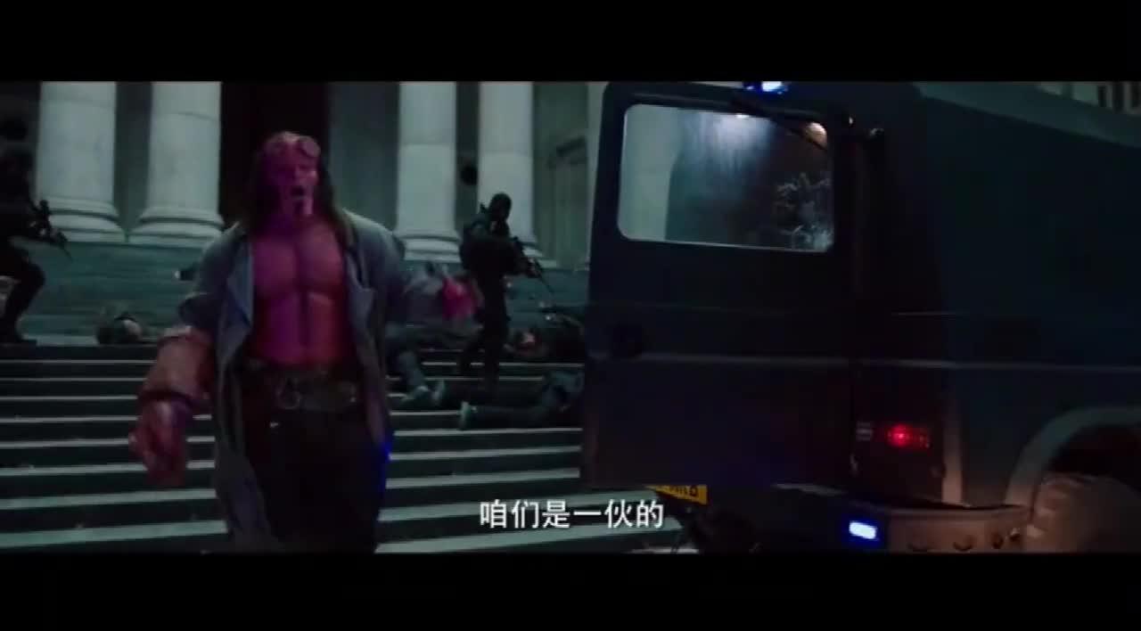 #经典看电影#时隔十年,超级英雄《地狱男爵》终归来红色灭霸拯救地球