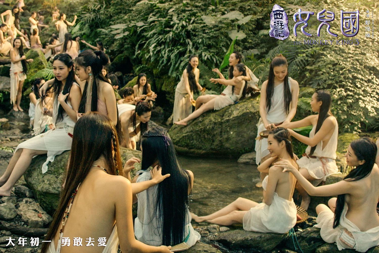 #经典看电影#猪八戒看到一群美女在河边洗澡,二师兄你此生无憾了!