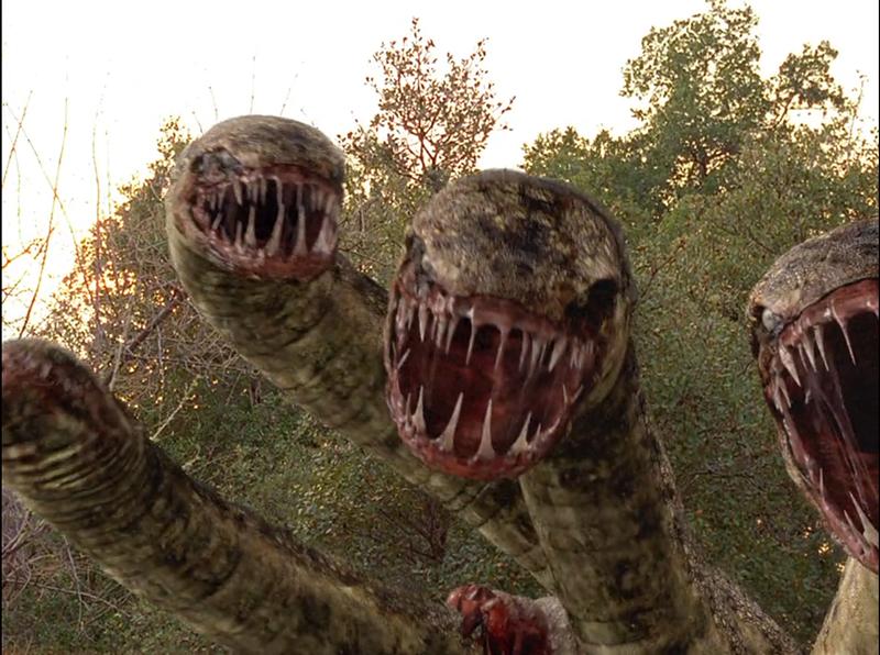 #经典看电影#100米长的千年巨蟒,秒杀美国军队,开始为所欲为!