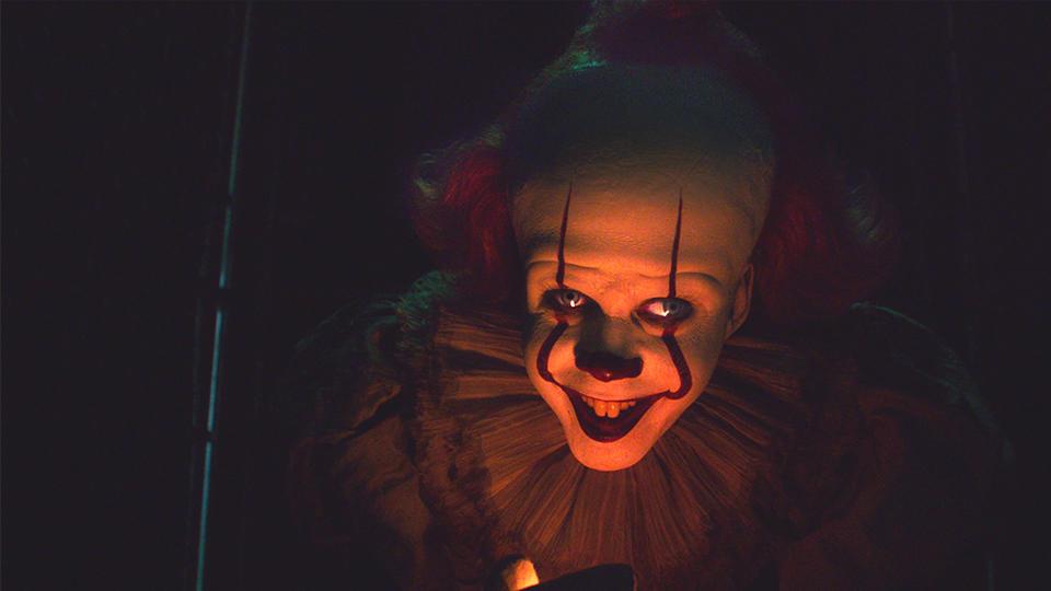 #电影片段#2019最新恐怖片《小丑回魂2》恐怖之夜再轮回