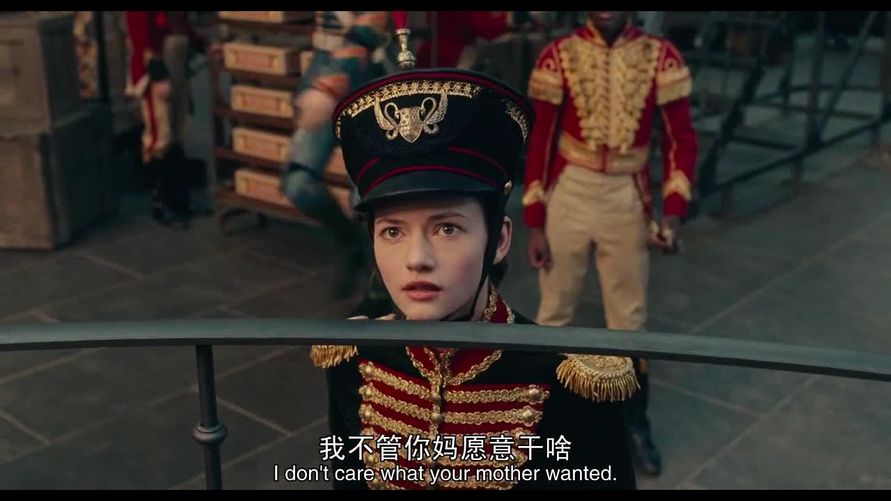 白发女命令攻打第四王国,女主阻拦,随后女主被士兵抓住