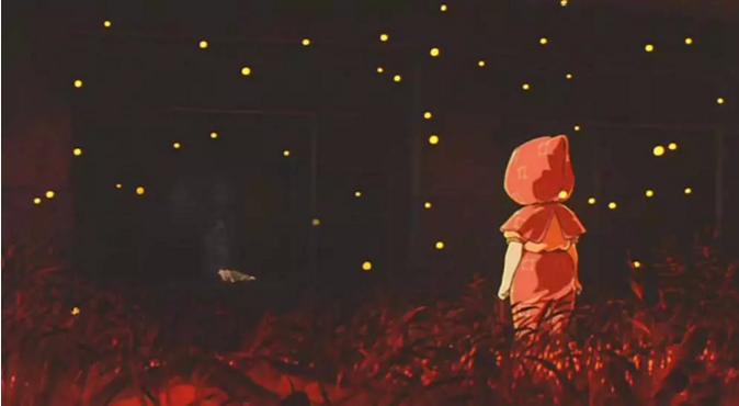 #经典看电影#《萤火虫之墓》讲的虽是日本二战,但是看到节子去世,还是哭了