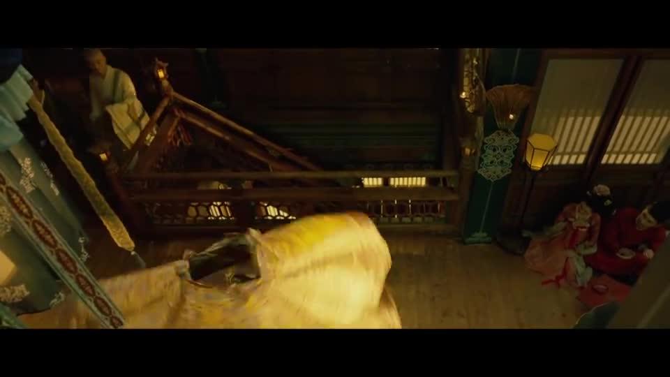 #电影迷的修养#《妖猫传》这支舞,张天爱都快转吐了,不过的确很美