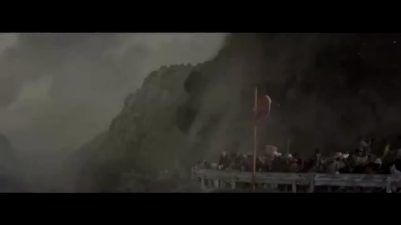 #经典看电影#超级地震爆发日本山崩地裂,超高海啸漫过日本列岛