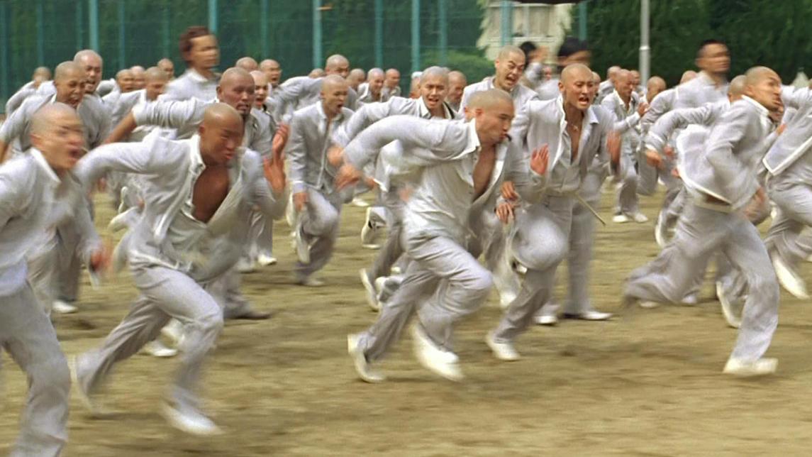 #经典看电影#凤仙四大天王携僧兵来战,铃兰武校危在旦夕,没想到最终他出手了